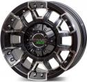 диск  PDW BLACKOUT (6024/01) 8.0x15/5x139.7 D 108.2 ET 0