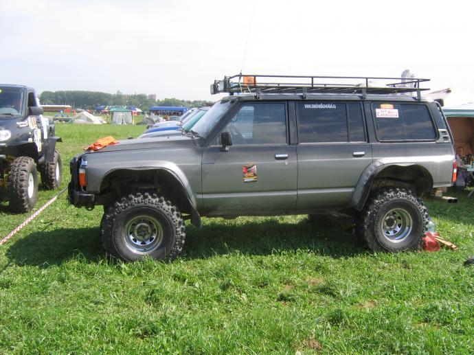 авомобиль: Nissan Patrol/Safari Y60 (GQ) подготовка 'Туризм' Шина: Simex Extreme Trekker 2 36x12.5-15 Диски:  ProComp RC 83 8.00x15 ; 6x139.7 вылет -19
