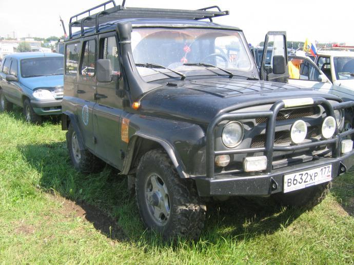 авомобиль: УАЗ 469 (3151*) подготовка 'Туризм' Шина: Irok Radial