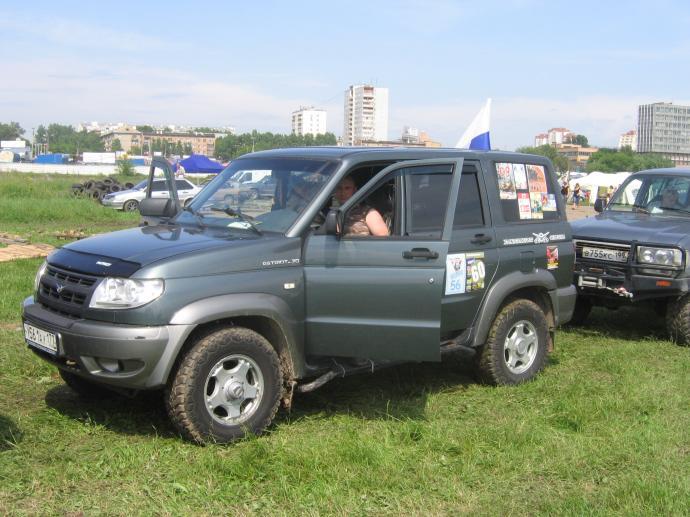 авомобиль: УАЗ Patriot подготовка 'Стандарт' Шина: Dynapro MT RT03