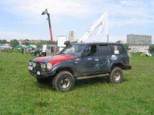 авомобиль: TOYOTA Land Cruiser 80 подготовка 'Туризм' Шина: BFGoodrich  MUD-TERRAIN T/A KM  35x12.50 R15/C