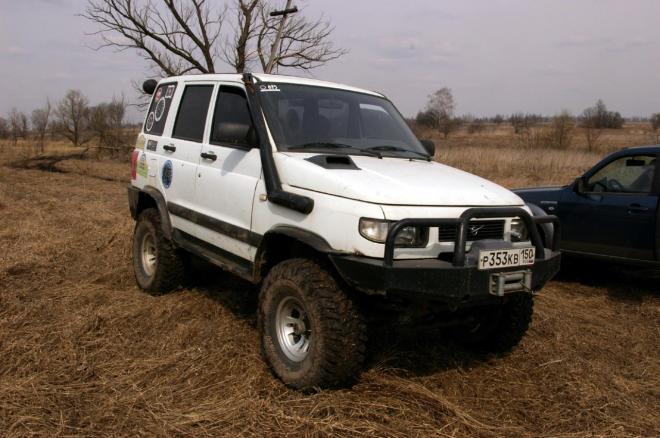 авомобиль: УАЗ 3160 подготовка 'Стандарт' Шина: Cooper Discoverer STT 35X12.50R15LT Диски:  КРамЗ Лидер 8.00x15 ; 5x139.7 вылет -25
