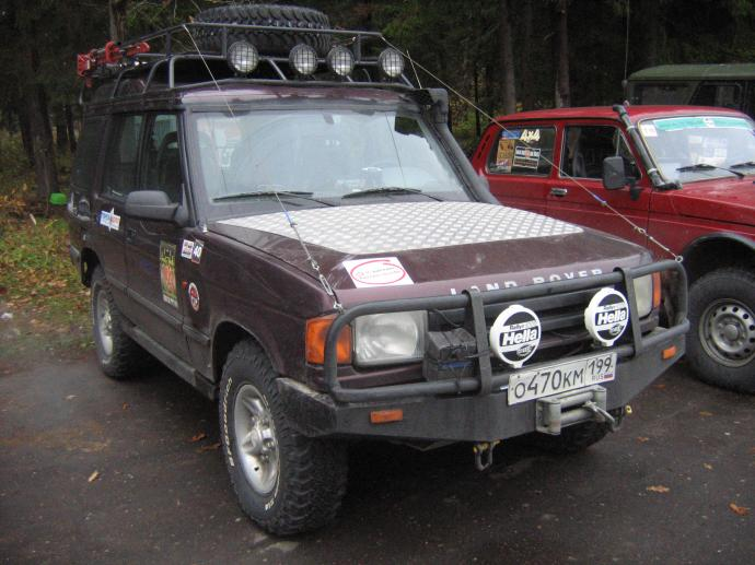 авомобиль: Land-Rover Discovery I подготовка 'Стандарт' Шина: BFGoodrich  MUD-TERRAIN T/A KM  LT235/75 R15/C