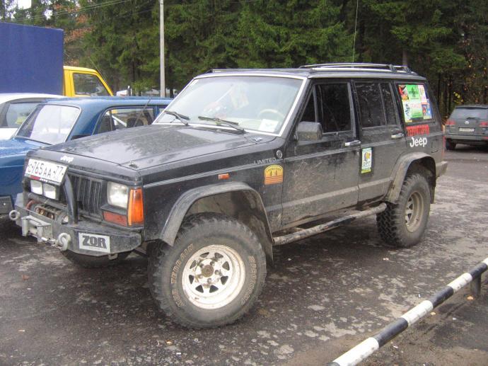 авомобиль: Jeep Cherokee подготовка 'Туризм' Шина: Pro Comp  MT 31/10.50 R15 Диски:  ProComp RC 82 8.00x15 ; 5x114.3 вылет -19
