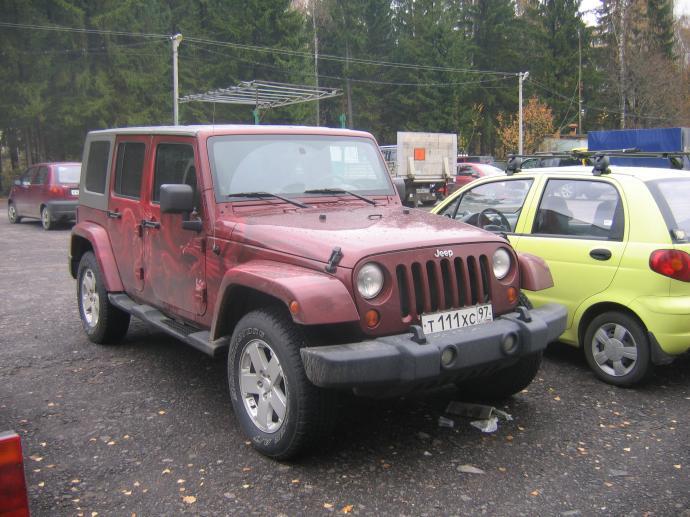 авомобиль: Jeep Wrangler подготовка 'Туризм' Шина: Dueler A/T 694