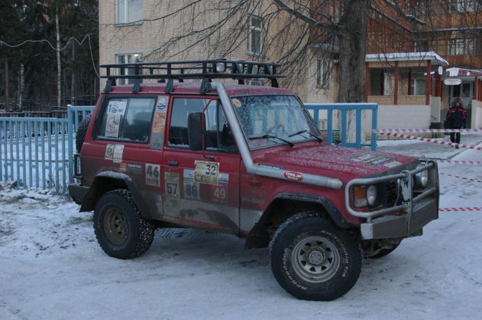 авомобиль: Mitsubishi Pajero I подготовка 'Туризм' Шина: All-Terrain KO