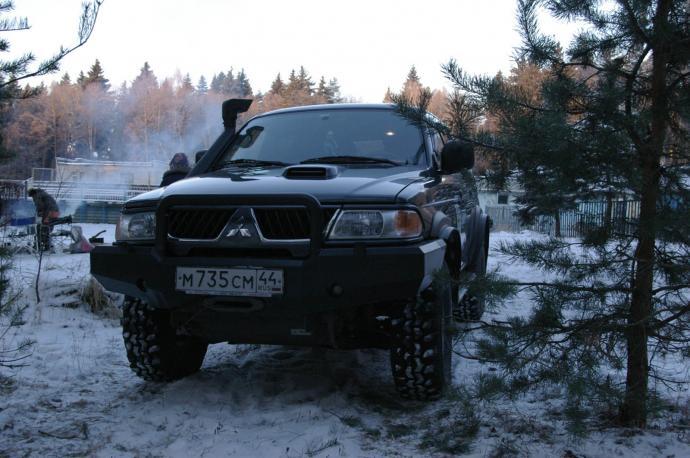 авомобиль: Mitsubishi Pajero Sport подготовка 'Экстрим' Шина: TSL/Radial