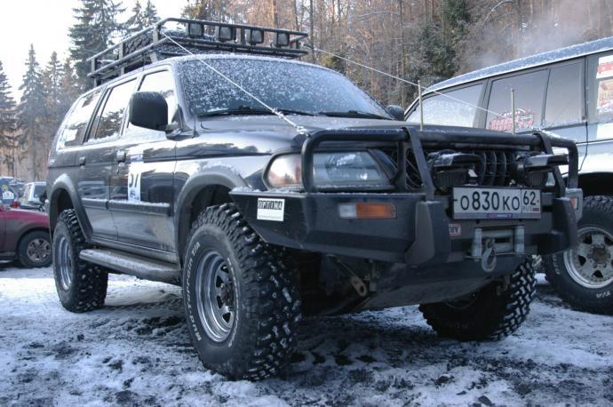 авомобиль: Mitsubishi Pajero Sport подготовка 'Туризм' Шина: BFGoodrich  MUD-TERRAIN T/A KM  33x10.50 R15/C