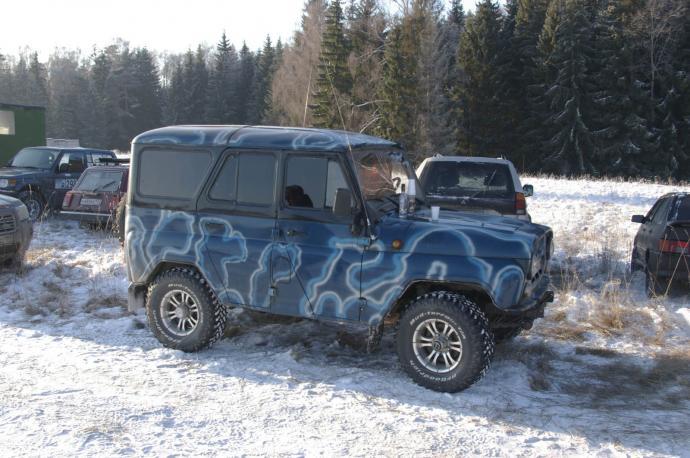 авомобиль: УАЗ 469 (3151*) подготовка 'Туризм' Шина: BFGoodrich  MUD-TERRAIN T/A KM  31x10.50 R15/C
