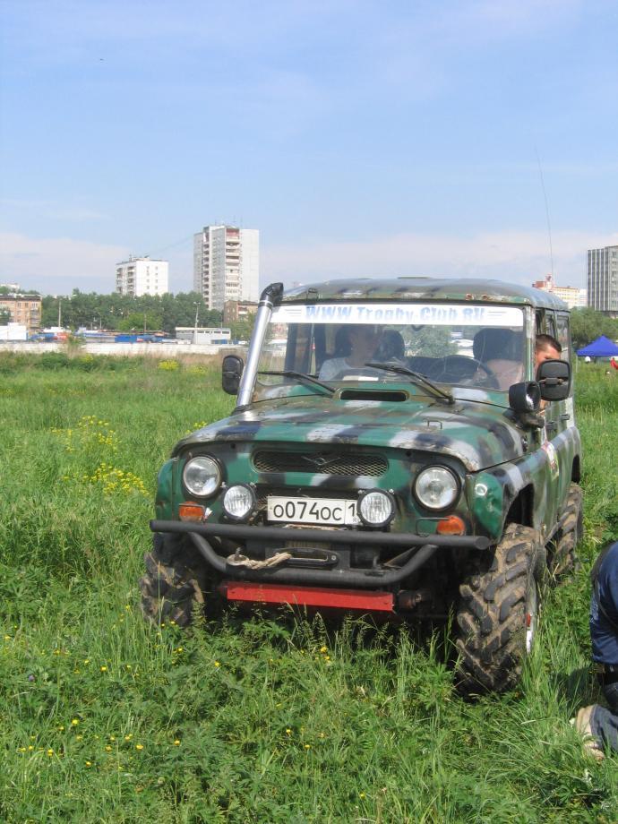 авомобиль: УАЗ 469 (3151*) подготовка 'Экстрим' Шина: ФБел - 160м