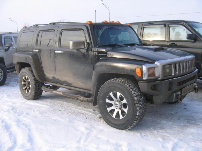 авомобиль: GM Hummer H3 подготовка 'Стандарт' Шина: Bridgestone Blizzak DM-Z3 285/75R16