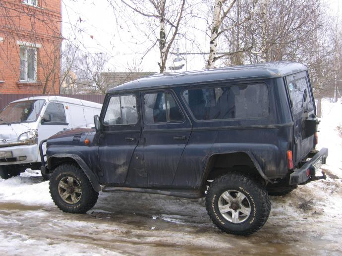 авомобиль: УАЗ 469 (3151*) подготовка 'Туризм' Шина: BFGoodrich  MUD-TERRAIN T/A KM  LT255/85 R16/D