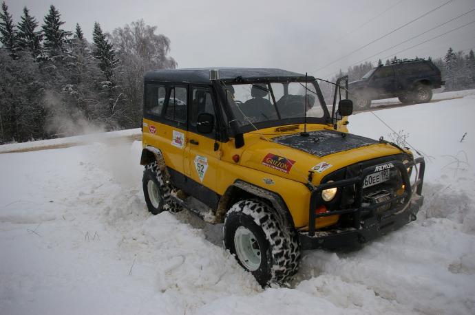 авомобиль: УАЗ 469 (3151*) подготовка 'Экстрим' Шина: Super Swamper TSL 36x12.50-15LT Диски:  OFF-ROAD Wheels WH 10.00x15 ; 5x139.7 вылет -44