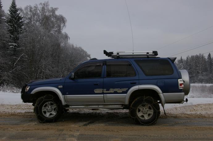 авомобиль: TOYOTA 4Runner подготовка 'Стандарт' Шина: Dunlop Grandtrek SJ-6 265/70R16SL
