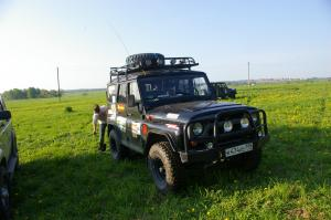 авомобиль: УАЗ 469 (3151*) подготовка 'Туризм' Шина: MT-762 Bighorn Radial Диски:  OFF-ROAD Wheels ORW BL