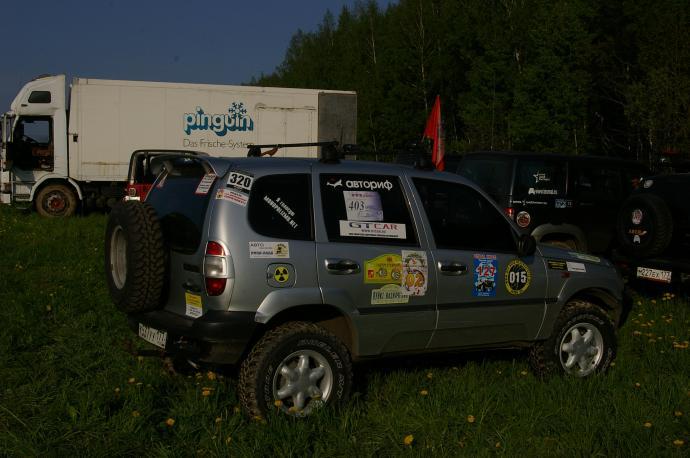 авомобиль: ВАЗ Шеви-Нива подготовка 'Туризм' Шина: Bridgestone Dueler M/T 673 235/75R15