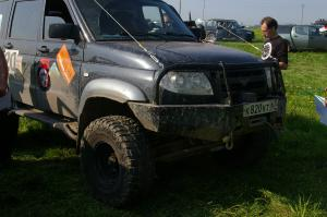 авомобиль: УАЗ Patriot подготовка 'Экстрим' Шина: Road Venture MT KL71 Диски:  OFF-ROAD Wheels ORW BL