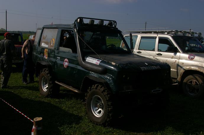 авомобиль: TOYOTA Land Cruiser 70 подготовка 'Экстрим' Шина: Bogger Диски:  КРамЗ Лидер