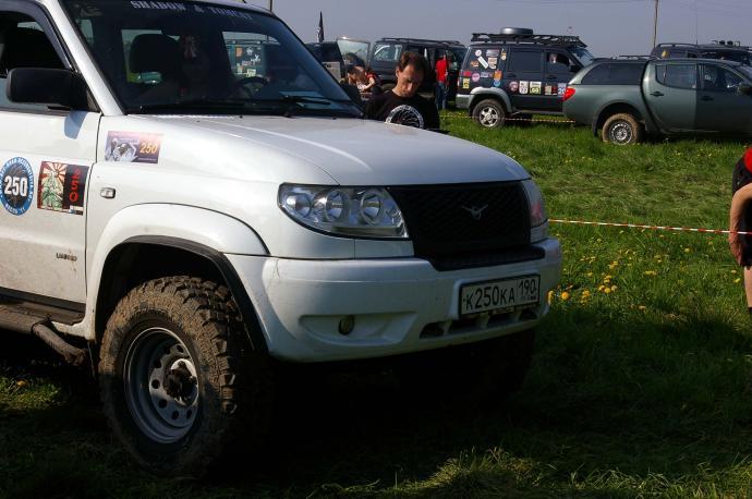авомобиль: УАЗ Patriot подготовка 'Туризм' Шина: Geolandar M/T ( G001 ) Диски:  OFF-ROAD Wheels WH