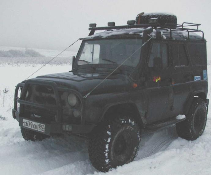 авомобиль: УАЗ 469 (3151*) подготовка 'Туризм' Шина: Cooper Discoverer STT 35X12.50R15LT