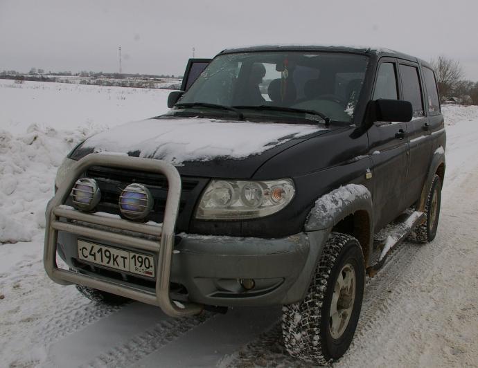 авомобиль: УАЗ Patriot подготовка 'Стандарт' Шина: Nokian Hakkapeliitta 5 SUV 265/70R16