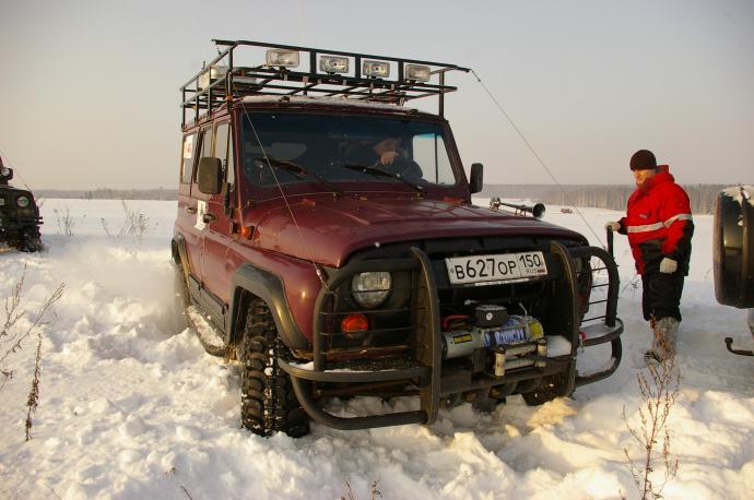 авомобиль: УАЗ 469 (3151*) подготовка 'Экстрим' Шина: Simex Extreme Trekker 35x11.5-15