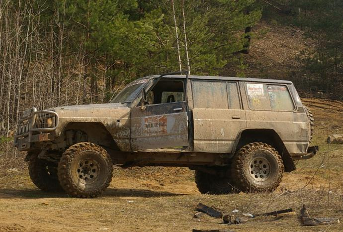авомобиль: Nissan Patrol  Y61 (GU/GR) подготовка 'Экстрим' Шина: Simex Extreme Trekker 35x11.5-15 Диски:  OFF-ROAD Wheels ORW WH 8.00x15 ; 6x139.7 вылет -19