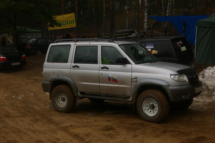 авомобиль: УАЗ Patriot подготовка 'Туризм' Шина: Dunlop Grandtrek MT2 265/75R16LT Диски:  OFF-ROAD Wheels WH 7.00x16 ; 5x139.7 вылет -3