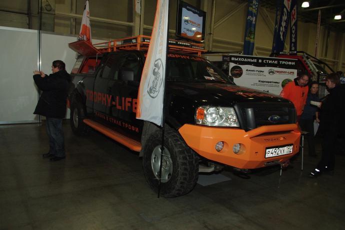 авомобиль: Ford F-250 подготовка 'Туризм' Шина: Kumho Road Venture MT KL71 LT315/70R17