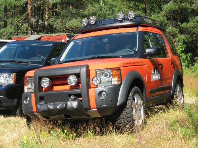 авомобиль: Land-Rover Discovery II подготовка 'Туризм' Шина: Wrangler MT/R