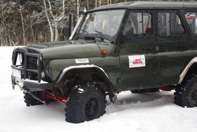 авомобиль: УАЗ 469 (3151*) подготовка 'Туризм' Шина: Simex Jungle Trekker 2 34x11.5-16