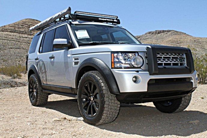 авомобиль: Land-Rover Discovery IV подготовка 'Стандарт'