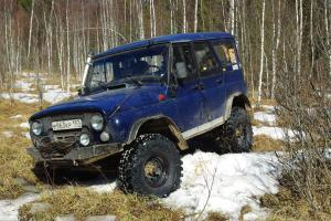 авомобиль: УАЗ 469 (3151*) подготовка 'Экстрим' Шина: Simex Extreme Trekker 35x11.5-16 Диски:  OFF-ROAD Wheels BL Classic 7.00x15 ; 5x139.7 вылет -19