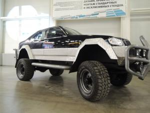 авомобиль: ГАЗ 66 подготовка 'Экстрим' Шина: Mickey Thompson Baja Radial ATZ 38X15.50R20LT