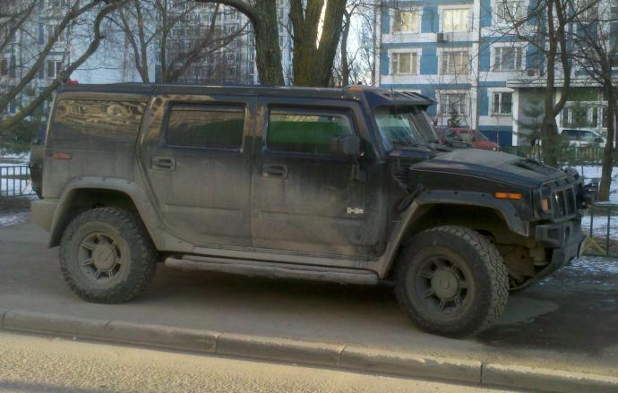 авомобиль: GM Hummer H2 подготовка 'Стандарт' Шина: Goodyear Wrangler DuraTrac LT315/70R17