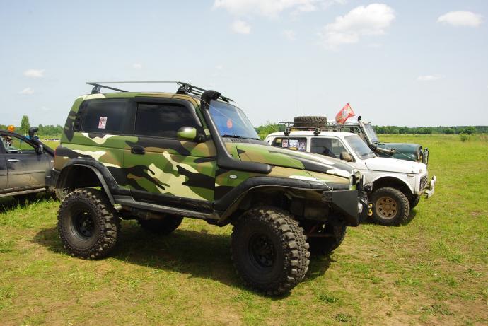 авомобиль: Tagaz Tager подготовка 'Экстрим' Шина: Simex Extreme Trekker 2 36x12.5-16 Диски:  OFF-ROAD Wheels BL Classic 8.00x16 ; 5x139.7 вылет -25