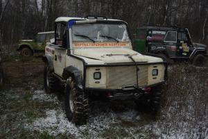 авомобиль: Land-Rover Defender подготовка 'Экстрим' Шина: Super Swamper Bogger 38.5x11.00-16LT