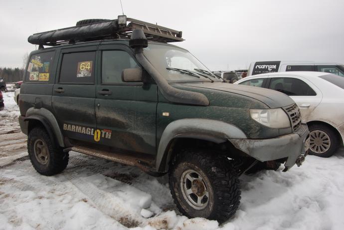 авомобиль: УАЗ Patriot подготовка 'Туризм' Шина: Cooper Discoverer STT 33X12.50R15LT