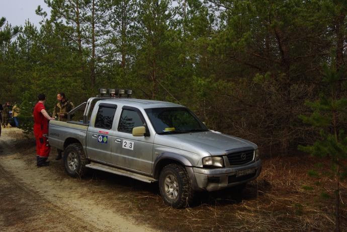 авомобиль: Mazda B2500 подготовка 'Стандарт' Шина: Hercules TERA TRAC M/T 31X10,50R15LT
