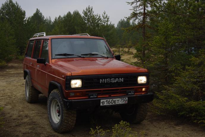 авомобиль: Nissan Patrol Y160/Y260 подготовка 'Стандарт' Шина: BFGoodrich  MUD-TERRAIN T/A KM2 LT265/75R16/E
