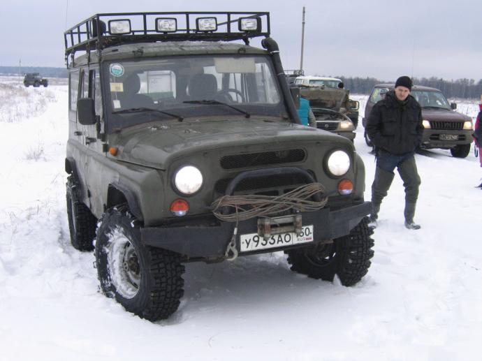 авомобиль: УАЗ 469 (3151*) подготовка 'Туризм' Шина: Jungle Trekker