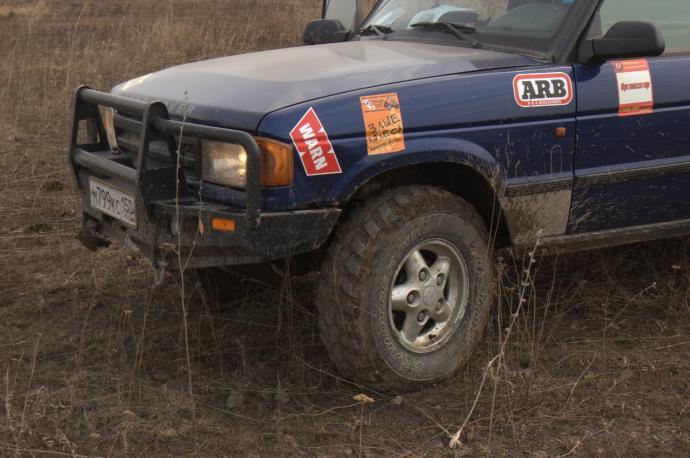 авомобиль: Land-Rover Discovery I подготовка 'Стандарт' Шина: Dueler M/T 673