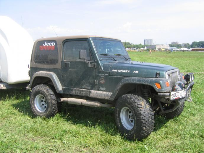 авомобиль: Jeep Wrangler подготовка 'Экстрим' Шина: Cooper Discoverer STT 35X12.50R15LT Диски:  ProComp RC 82 10.00x15 ; 5x114.3 вылет -44