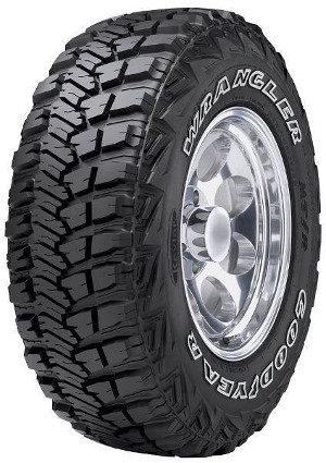Goodyear Wrangler MT/R with Kevlar 31X10,50R15LT
