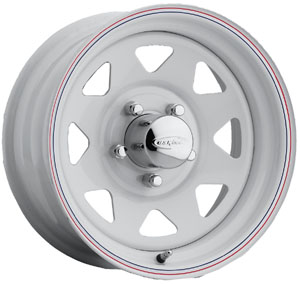 US Wheels US 70 White 8 Spoke