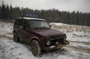 авомобиль: ВАЗ Нива 213/214/21 подготовка 'Стандарт' Шина: Cordiant OFF-ROAD OS-501 205/70R15