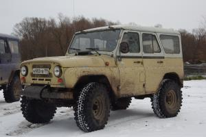 авомобиль: УАЗ 469 (3151*) подготовка 'Экстрим' Шина: Simex Extreme Trekker 2 36x12.5-15 Диски:  OFF-ROAD Wheels BL Classic 8.00x15 ; 5x139.7 вылет -19